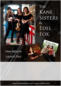 The Kane Sisters & Edel Fox Tour Poster